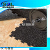 Black with EPDM Flecks Fitness Interlock Rubber Flooring
