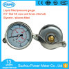 Wika Type Liquid Filled Pressure Gauge with Flush Mount Bracket