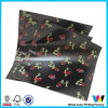 Black Glossy Gift Paper with Colored Logos