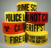 PE Warning Tape, Caution Tape, Barricade Tape Yellow and Red