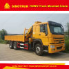 Sinotruk HOWO Folding Arm Type 10t Truck Mounted Crane