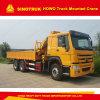 Sinotruk HOWO Folding Arm Type 10t Truck Mounted Crane
