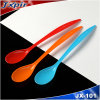 Colorful Plastic Spoon, Food Grade PS Big Plastic Spoon