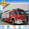 6X4 Sinotruk HOWO Heavy Duty 20 Tons Water Tanker Foam Fire Engine Truck
