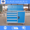 Warehouse Tool Cabinet with Drawers and Wheels Carbinet