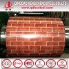 Wooden Pattern Color Coated Steel Coil/Flower Design PPGI Coil
