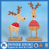 Wooden Fashionable Deer for Christmas Table Top Decoration