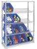 Slanted Storage Adjustable Wire Shelving