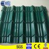 Green Colered Environmental Steel Roof Tiles