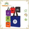 Custom Logo Print Standard Size Non Woven Bag Grommet Tote Bag