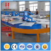 Oval Automatic Textile Screen Printing Machine of T-Shirt Screen Printer