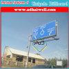Roadside Unipole Advertising Billboard Sign