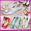 2015 The Latest Design Fashion Popular Women Summer Flat Shoes with The Fashion Design (H00-F4782)
