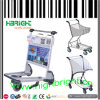 Airport Passenger Baggage Luggage Cart Trolley with Brake