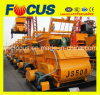 Ce ISO Certificate Js500 Twin Shaft Compulsory Concrete Mixer