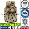 CE Plush Fur Hot Water Bottle Cover Leopard
