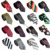 New Style Unisex Polyester Silk Multi Patterns Printed Neck Ties