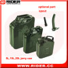 20L 0.6mm Fuel Storage Tank Petrol Jerry Cans