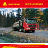 Sinotruk HOWO 371HP Log/Timber Truck for Wood Transport