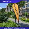 Digital Printing Outdoor Beach Flag Banner, Teardrop Flag Banner