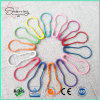 Certificated 22mm Assorted Colors Steel Pear Shaped Bulb Safety Pin for Hang Tag