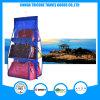Transparent PVC and Non-Woven Dark Blue Hanging Pocket Organizer Storage Bag
