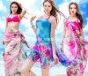 100%Polyester Chiffon Fabric Scarf Dress Skirt
