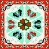 Digital Print Custom Fashion Silk Scarf (F13-DP-0001)