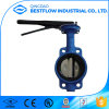 Best Selling Wafer Type Lined Cast Iron Butterfly Valve