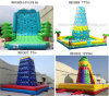4 Style Inflatable Wall Moutain Climbing for Sport Game