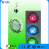 Plastic&Iron Material, with 1 PC Changing Color LED Solar Windchrime Solar Lighting