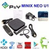 2016 Latest Price! Powerfull Original Minix Neo U1 Neo A2 Lite Android TV Box Ultra HD Xbmc