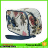 Portable PVC Leather Cosmetic Bag Western Style Toiletry Bag with Zipper