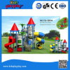 2016 Popular Castle Series LLDPE Plastic Outdoor Playground Equipment