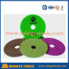 Diamond Tools Wet Diamond Polishing Pads for Polishing Marble, Granite