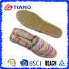 Fashion Flat and Comfortable Espadrilles Casual Lady Shoes (TN36710)