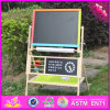 2017 Wholesale Kids Wooden Blackboard and Easel, New Design Child Wooden Blackboard and Easel, Best Blackboard and Easel W12b103
