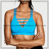 Free Sample OEM Hot Sale Sublimation Fabric Strappy Yoga Bra