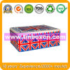 Rectangular Metal Tin Box for Promotion, Gift Tin Container