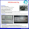 Ear Tag for Cow, ID Information Implant RFID Microchip Glass Tube