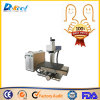 10W 20W Portable Fiber Laser Etching Marking Machine with Moving Table for Big Size Material