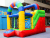 Colorful Inflatable Jumping House Dry Slide for Amusement Park