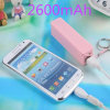 Perfume Smell Mobile Charger 2600mAh Mini Power Bank