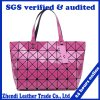 The New Package Triangle Geometry Ling Lattice Female Bag (7832)