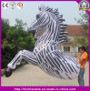 Customized New Design Mobilizable Funny Inflatable Zebra Horse Costume