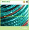 Green PVC Plastic Flexible Fiber Reinforced Braided Water Pipe Hose
