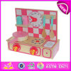 Beautiful Kids Kitchen Set Toy, Cute Wooden Kitchen Sets Toy for Children, Lovely Wooden Toy Kitchen Play Set for Baby W10c088
