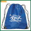 Navy Blue Nylon Drawstring Backpack School Bag (TP-dB224)
