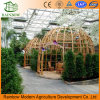 Greenhouse Ecological Restaurant Polycarbonate Sheet Roof Glass Wall Greenhouse