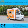Customized Hot Food Carts with 2 Meters Business Window